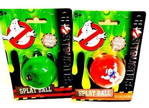 Ghostbusters  Splat Ball Squidgy Ball Stress Ball Squeeze Ball Splat Catch