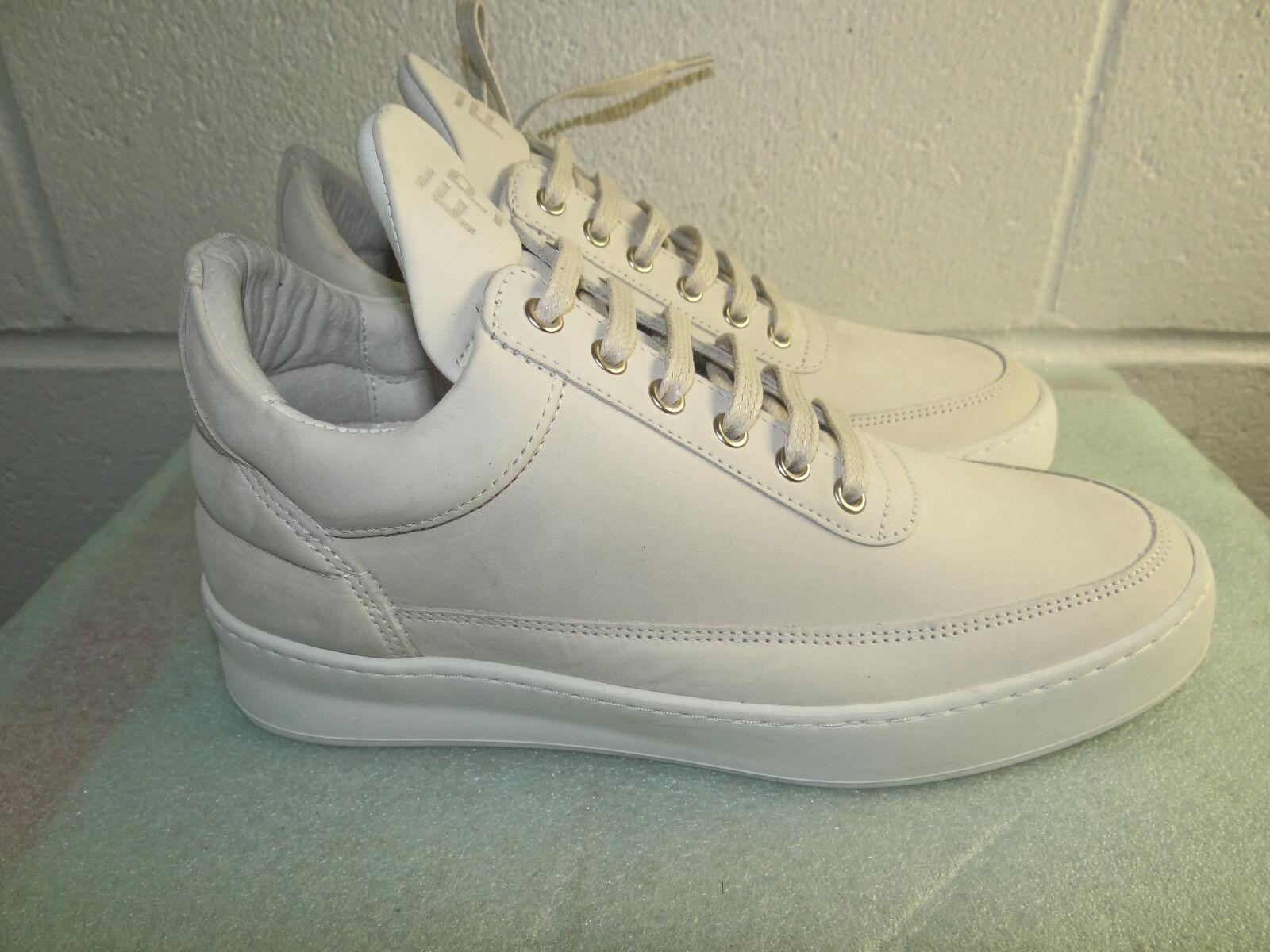 all'ingrosso a buon mercato FILLING PIECES FP Ivory Leather Fashion scarpe scarpe scarpe da ginnastica donna Dimensione 37 7M Made in ITALY  molte sorprese