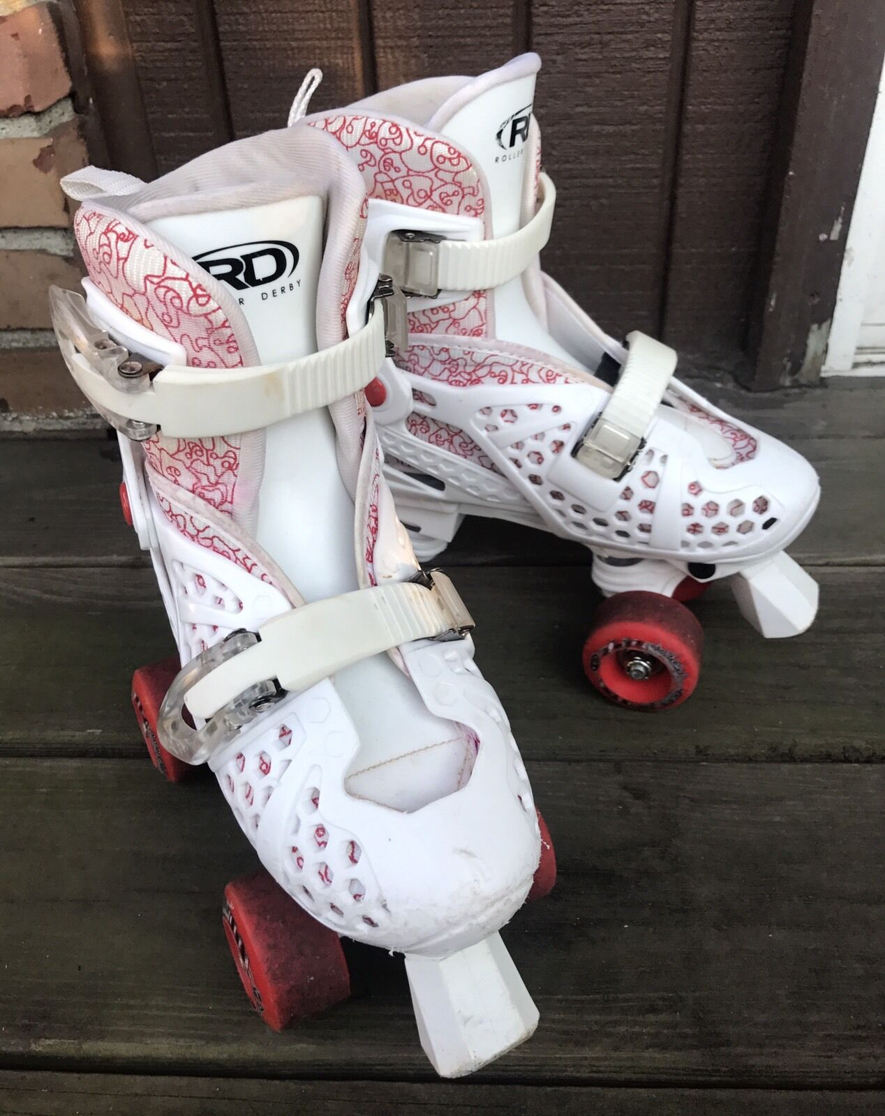 Girls Youth RD Roller Derby S s Sz 2 3  4 Trac Star Quad Adjustable S s-S2  sale online discount low price