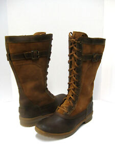 UGG BRYSTL WOMEN TALL BOOTS LEATHER