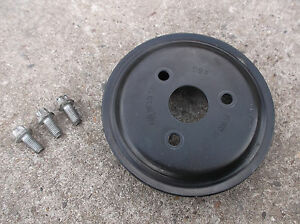 VAUXHALL-ASTRA-H-MK5-1-4-TWINPORT-WATER-PUMP-PULLEY-amp-BOLTS-Z14XEP-2004-2009
