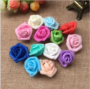 25Pcs-Foam-Home-Furnishing-7cm-Artificial-Rose-Flower-Handmade-Wedding-Decor