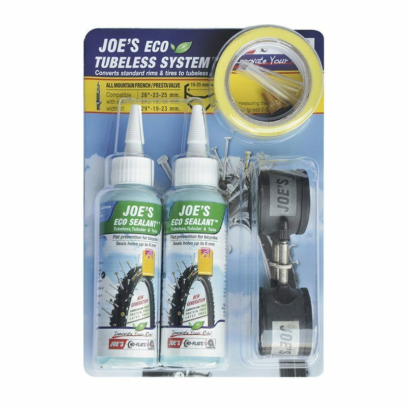 JOES Complete kit voor slangloos, geel  Presta-ventiel 19-25 mm  cheap and fashion