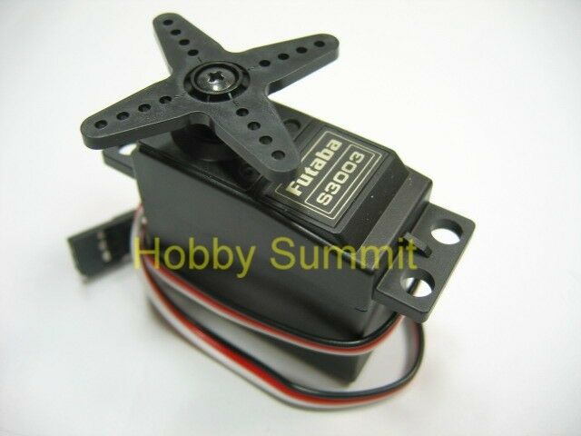 Futaba  S3003 STANDARD SERVO  R/C   On Off Road Car Touring Boat Buggy Truck