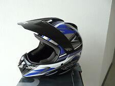Uvex Endurohelm  Crosshelm  schwarz /blau/shiny  Gr XS  Neu