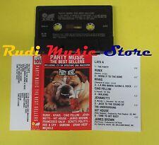 MC PARTY MUSIC THE BEST SELLERS compilation JOVANOTTI SALVI no cd lp dvd vhs *