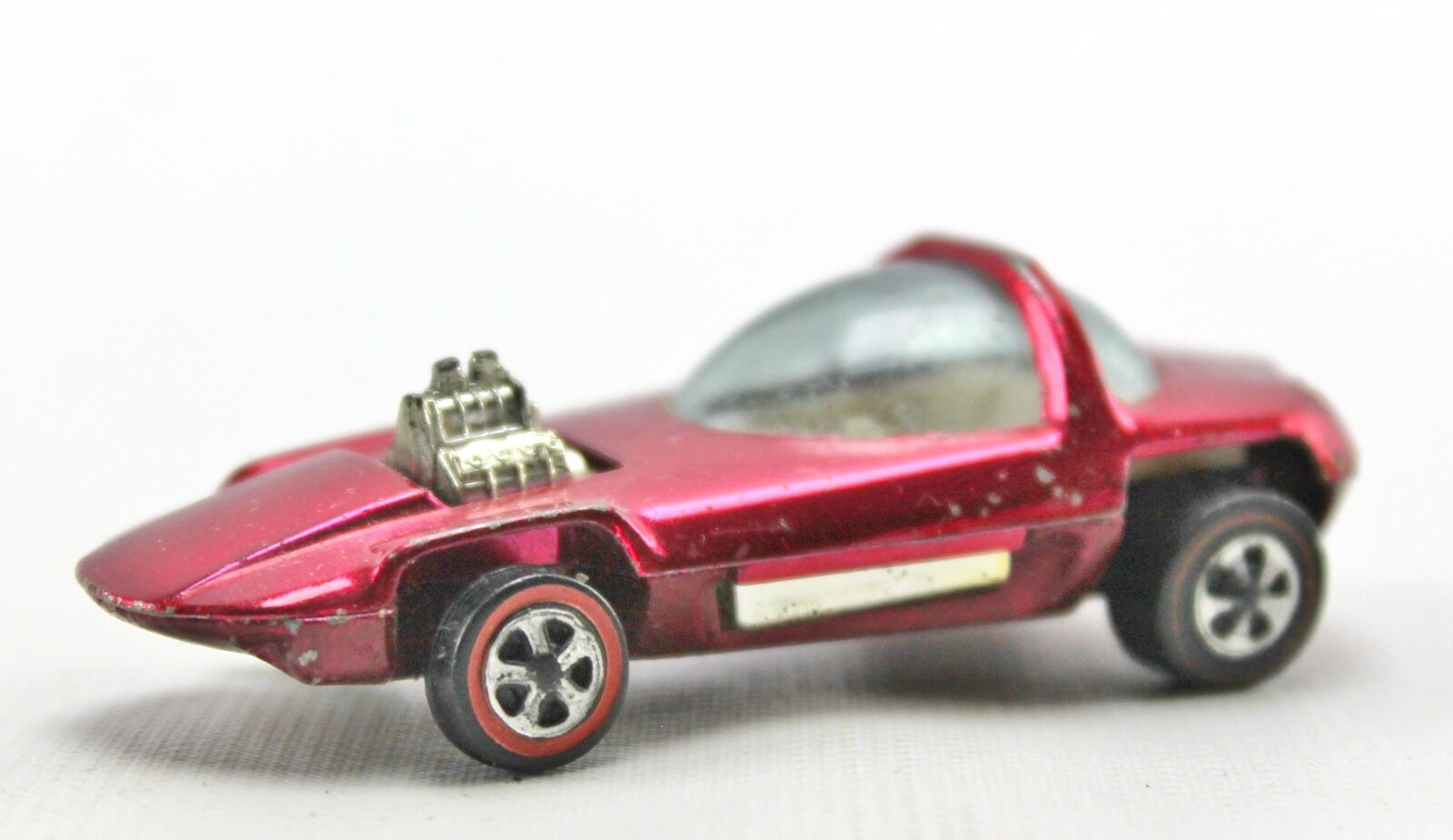 1967 SILHOUETTE Rose rougeline Hot Wheels Diecast USA 1 64