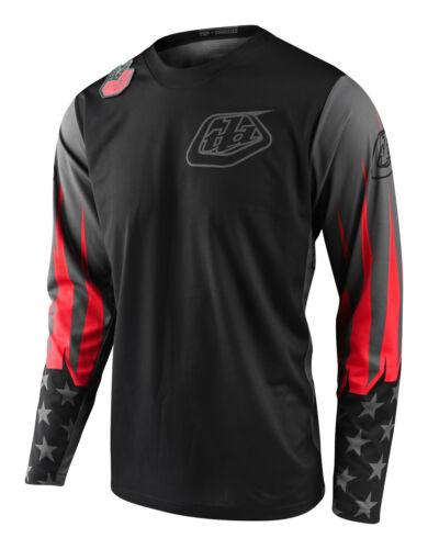 Troy Lee Designs 2020 GP JERSEY; LTD LIBERTY Black Gray