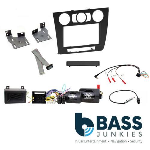 BMW 1 Series XTRONS Car Stereo Facia Steering Wheel /& Parking Sensor Kit CTKBM09