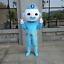 L/'équipage Octonautes ours polaire police Film Mascotte Costume Costume De Carnaval Cosplay