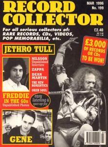 No-199-Mar-1996-Jethro-Tull-Queen-Nilsson-Magazine-Record-Collector-VG