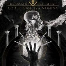 Blut Aus Nord / Aevangelist - Codex Obscura Nomina CD 2016 digi black metal