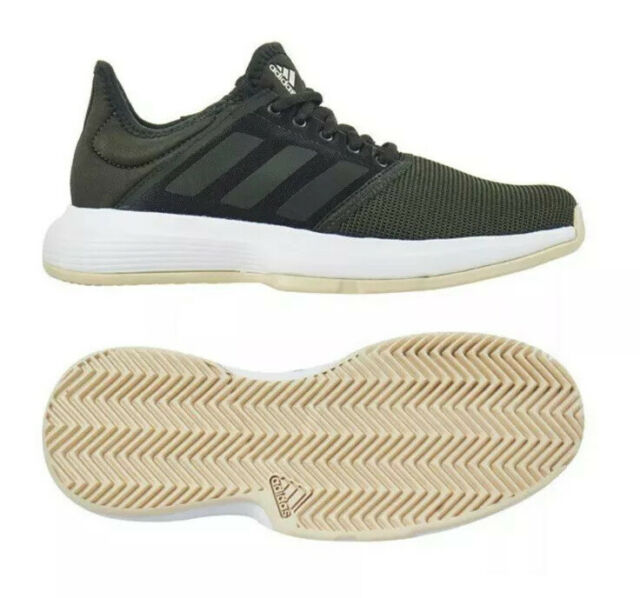 adidas Court Set Leather Trainers