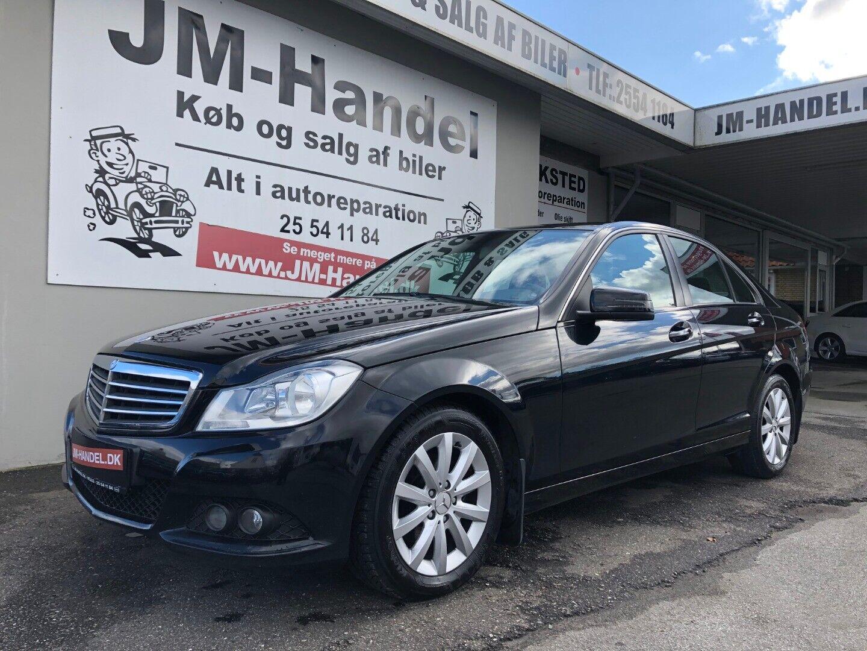 Mercedes C200 2,2 CDi Elegance BE 4d - 149.900 kr.
