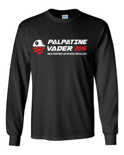 519 Palpatine Vader 2016 Long Sleeve shirt election dark side wars sith jedi new