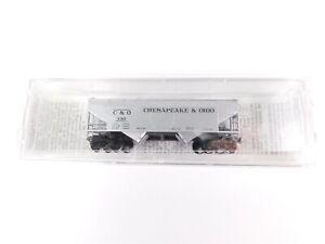 N-Scale-MTL-Micro-Trains-86030-C-amp-O-Chesapeake-Ohio-33-039-2-Bay-Hopper-130