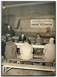 France-Paris-reunion-electorale-Vintage-silver-print-Tirage-argentique-1