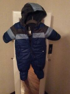 8f550cf3f $70 S Rothschild Baby boy color blocked Footed Pram snowsuit size 3 ...