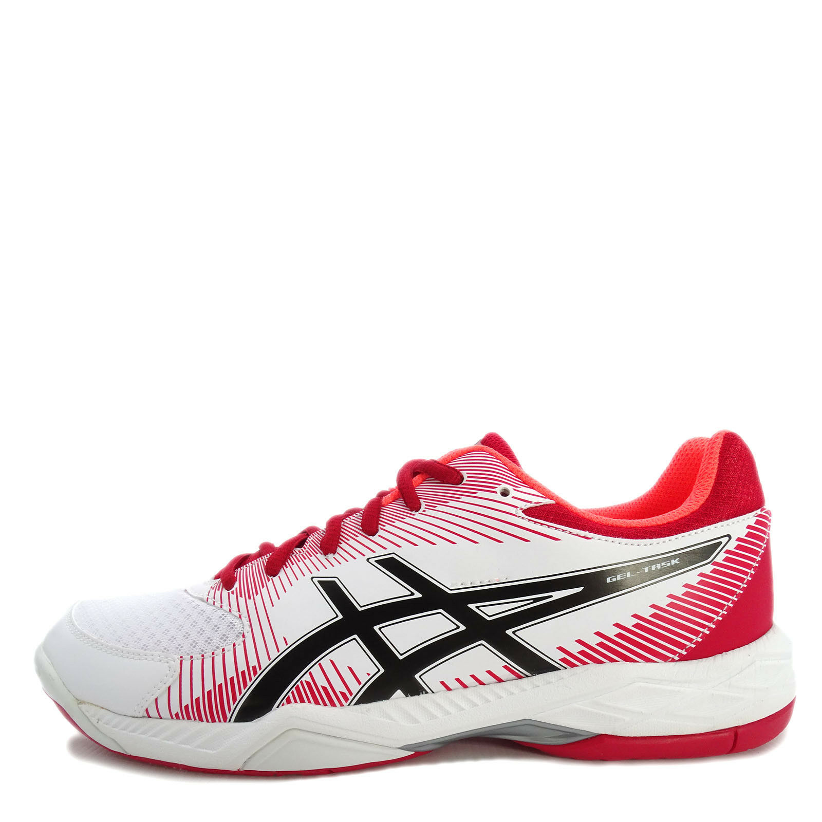 Asics GEL-Task [B704Y-0123] Men Volleyball Badminton shoes shoes shoes White Red-Black 1a9599