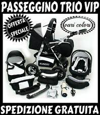OFFERTA SPECIALE! trio VIP passeggino+navicella+ovetto!3 in 1!SPEDIZIONE GRATIS!