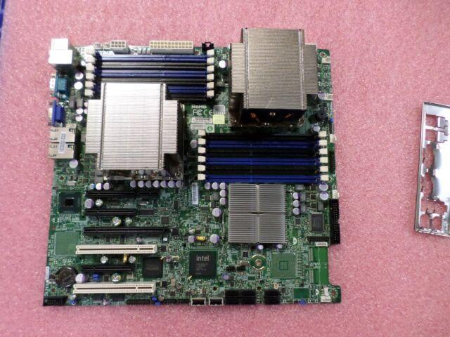 USED Super Micro X8DTI-F Motherboard with I/O Shield and Heatsinks (LGA1366)