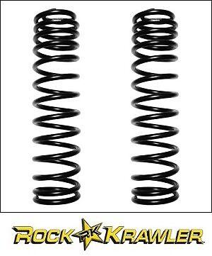 """Rock Krawler RK00215 3.5/"""" Rear Coil Springs For 97-06 Jeep Wrangler TJ//LJ"""