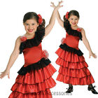 CK219 Child Spanish Princess Flamenco Fancy Dress Girl Book Week Party Costume