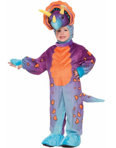 Spunky Triceratops Dinosaur Jumpsuit Toddler Halloween Costume
