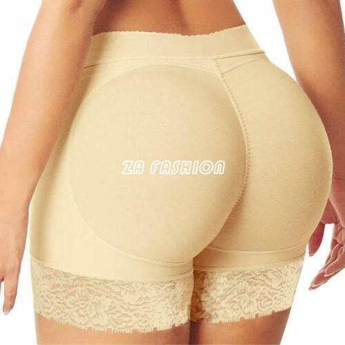 Women/'s Boxer Underwear Black khaki Panties Lingerie Culotte Brief With Hip Pad