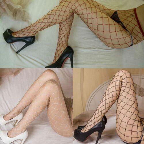 Women Crystal Socks Rhinestone Elastic Stocking FishNet Pantyhose Tights Mesh