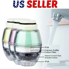 Triple Filter Tap Water Purifier Coconut Carbon Clean Home Kitchen Faucet