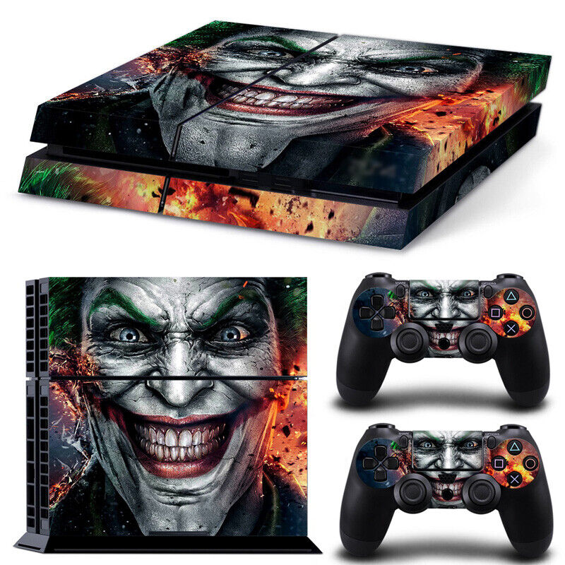 Joker PS4 Skins Sticker Cover For Sony Playstation 4 Console & Controller Decals