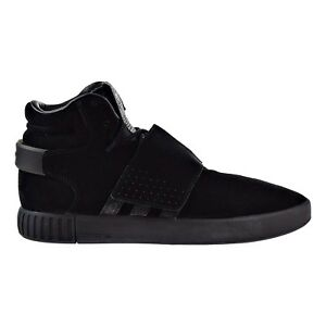 adidas tubular invader strap shoes kids' black nz