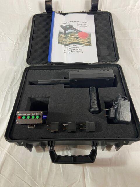 AKS PLUS Dual Probe Metal Gold Treasure Detector Long Range Hunter Machine 20m