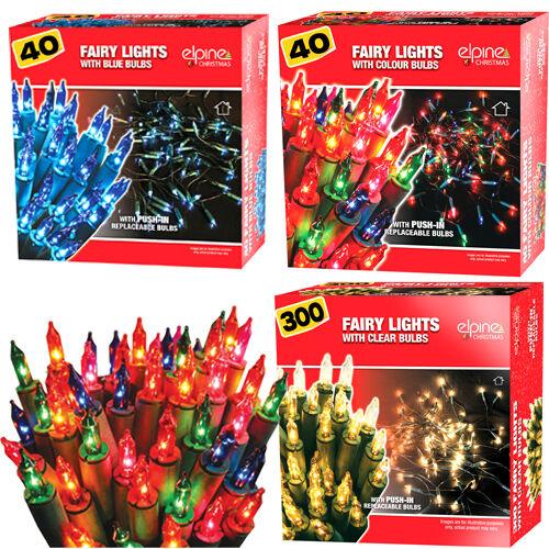 20 40 100 200 300 400 Lumières de Noël décoration indoor outdoor Fée Noël Nouveau