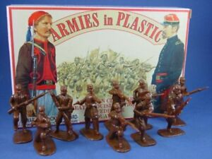 ARMIES-IN-PLASTIC-5439-Civil-War-Confederate-Tiger-Zouaves-20-Figures-FREE-SHIP