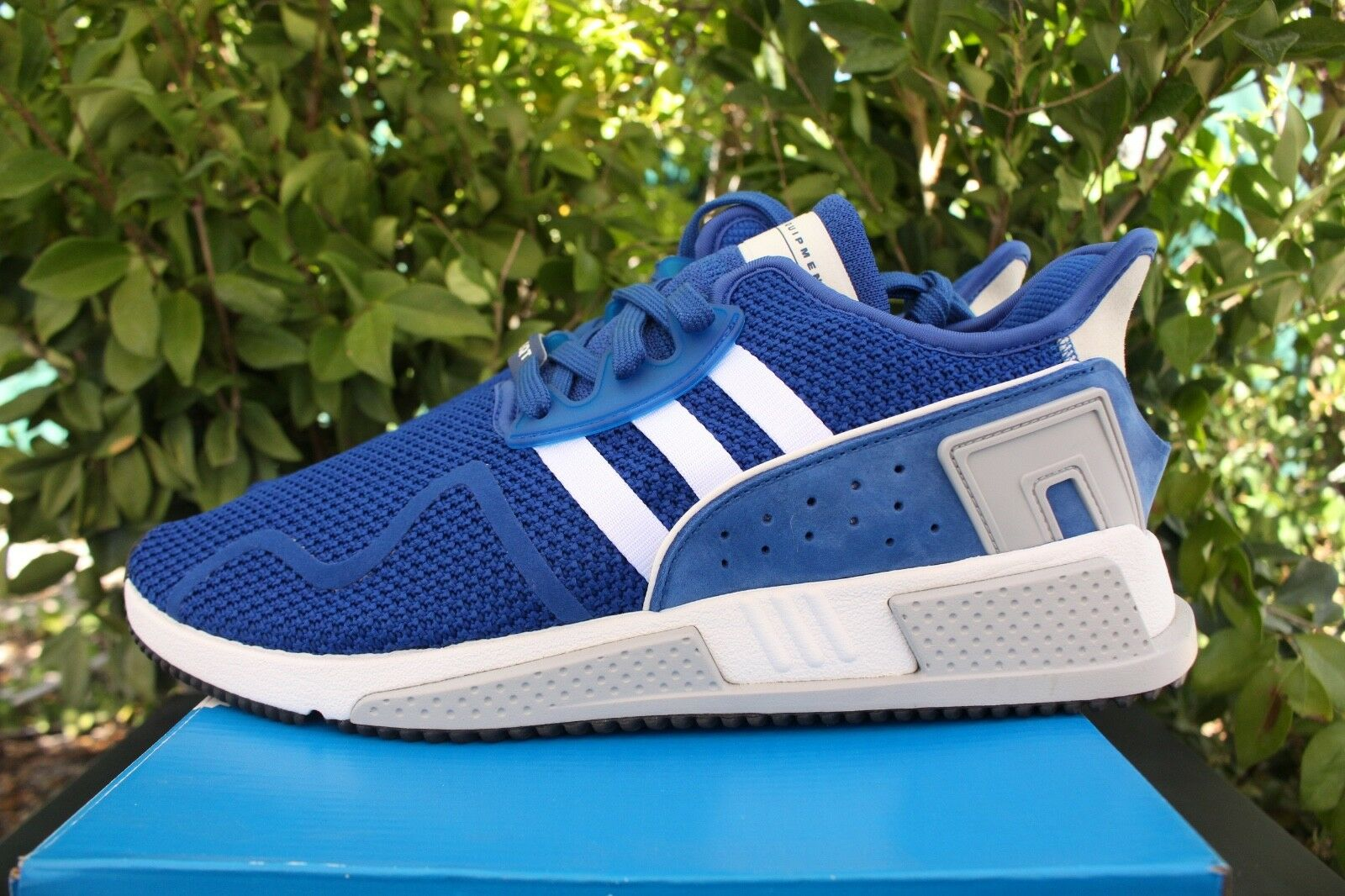 Adidas originals eqt kissen adv sz 12 royal blau - strick weiße strick - cq2380 e84f4e