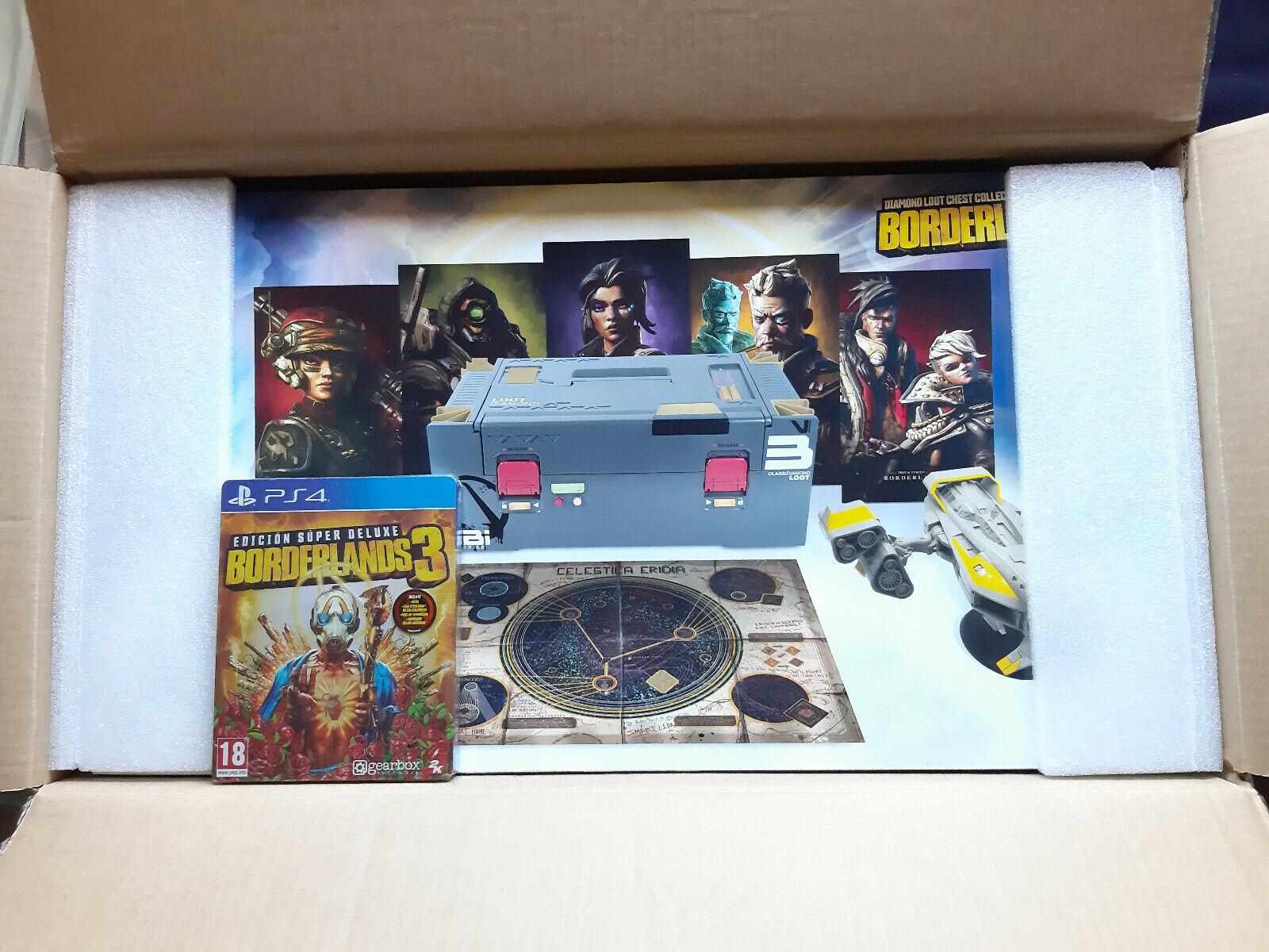 Borderlands 3 Diamond Loot Edición Coleccionista PS4