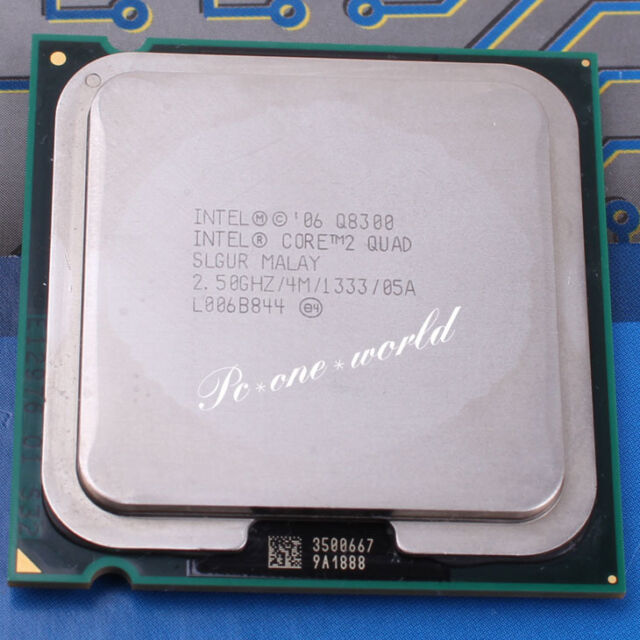 100% OK SLGUR SLB5W Intel Core 2 Quad Q8300 2.5 GHz Quad-Core CPU LGA 775