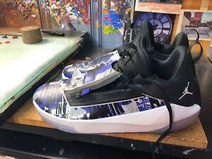 b3473905fa2ef3 Nike Jordan Jumpman Hustle Dark Concord White Zipper SZ US 10.5 Men ...