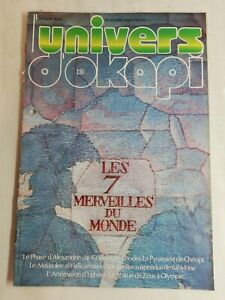 N55 Rivista Universo Okapi N° 131 I Sept Meraviglie Del Monde, Il Faro' Alexand