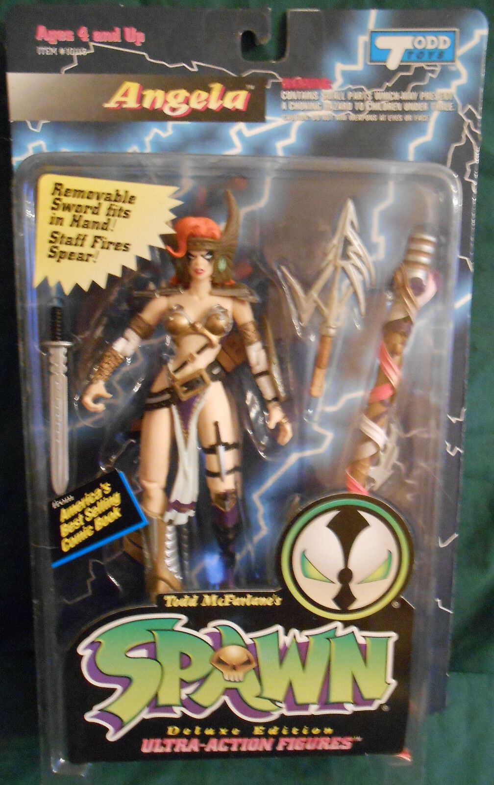 Angela Deluxe Edition Spawn  McFarlane  excellent prix
