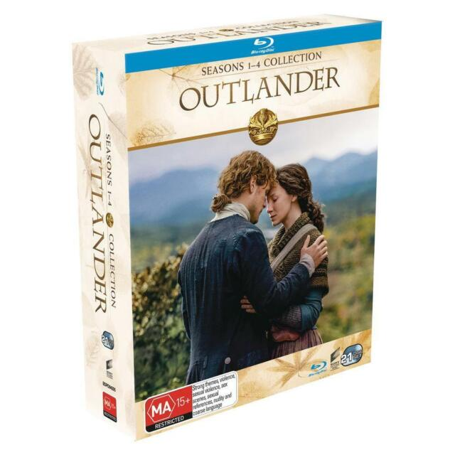 OUTLANDER : The Complete Season 1 2 3 4 : NEW Blu-Ray