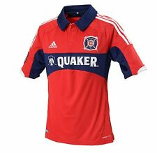 NEW ADIDAS MEN'S CHICAGO FIRE HOME SOCCER JERSEY ~SIZE  XL~ #Z37482