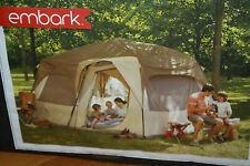 Embark 10 Person Instant Cabin Tent 14' L x 10' W x 7' H NEW