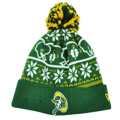 Fanartikel Nfl New Era Pullover Chill Green Bay Packers Pom Pom Bündchen Gestrickte Mütze Moderate Kosten