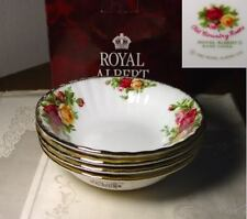 Royal Albert OLD COUNTRY ROSES Fruit Bowls, Set of 4, New in Box !