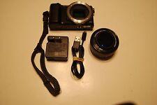 Sony Alpha CX5000 20.1MP Digital SLR Camera w/ E PZ OSS 16-50mm Tested