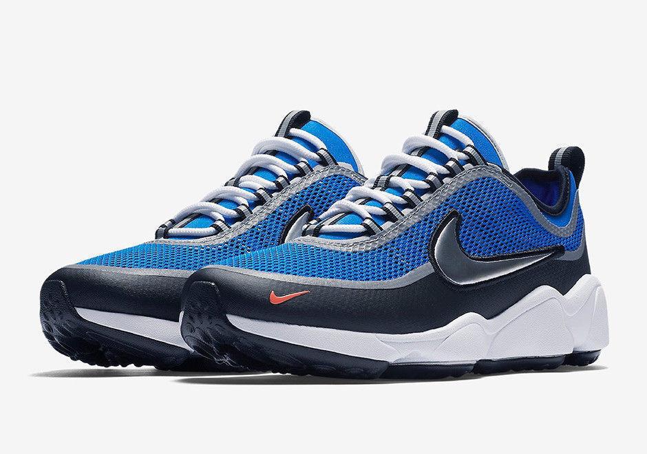 Nike air zoom sprdn spiridon regal blu argento metallico (876267 sz 9 400.