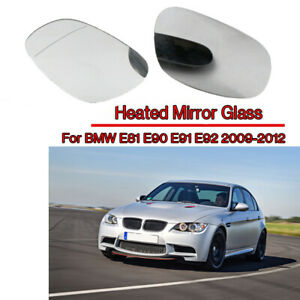 BMW 1 SERIES E81 3 DOOR HATCHBACK 118i 2009 WING MIRROR GLASS BLUE HEAT LEFT